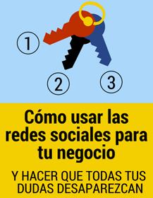 infografia como usar las redes sociales para tu negocio