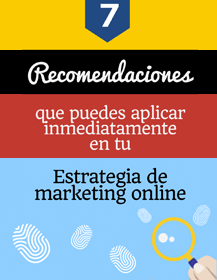 infografia recomendaciones de marketing digital