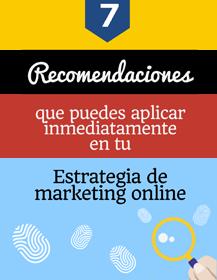 infografia recomendaciones de marketing digital